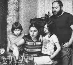 Chess and The Polgar Sisters with Dad Lazlo