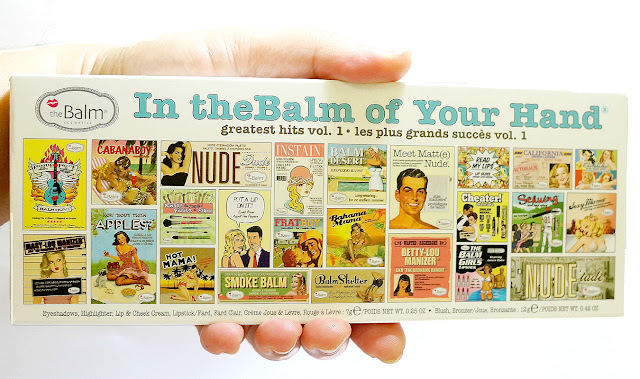 theBalm In theBalm of Your Hand Holiday Face Palette