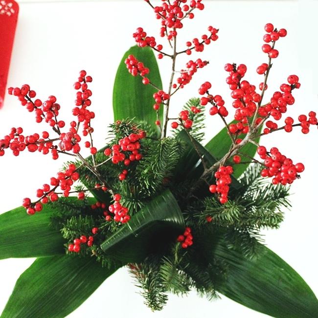 Jelena Zivanovic Instagram @lelazivanovic.Glam fab week.Christmas bouquets.Bozicni buketi cveca.