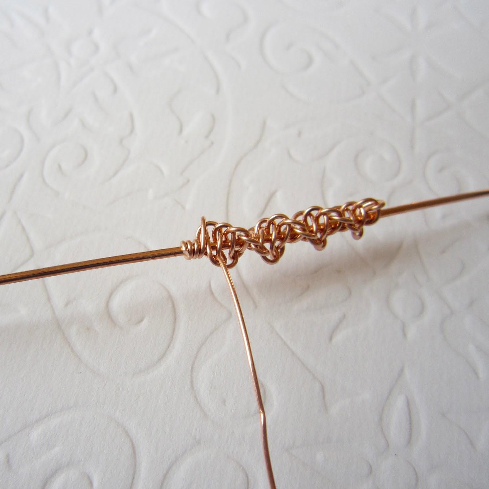 Wire Macrame Earring Tutorial