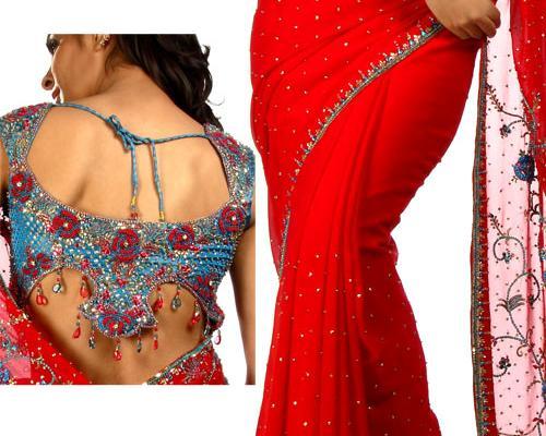 back knot blouse