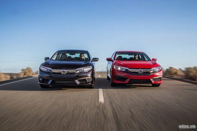 Soi chi tiết xe Honda Civic 2016