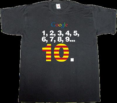 google catalan internet t-shirt ephemeral-t-shirts