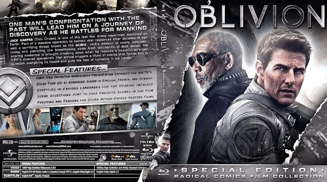 Capa Bluray Oblivion Special Edition