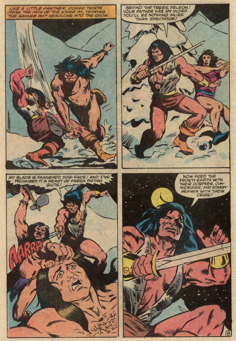 Conan the Barbarian (1970) Issue #145 #157 - English 9