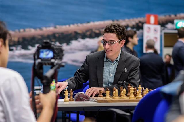 Fabiano Caruana en el Tata Steel Chess 2016