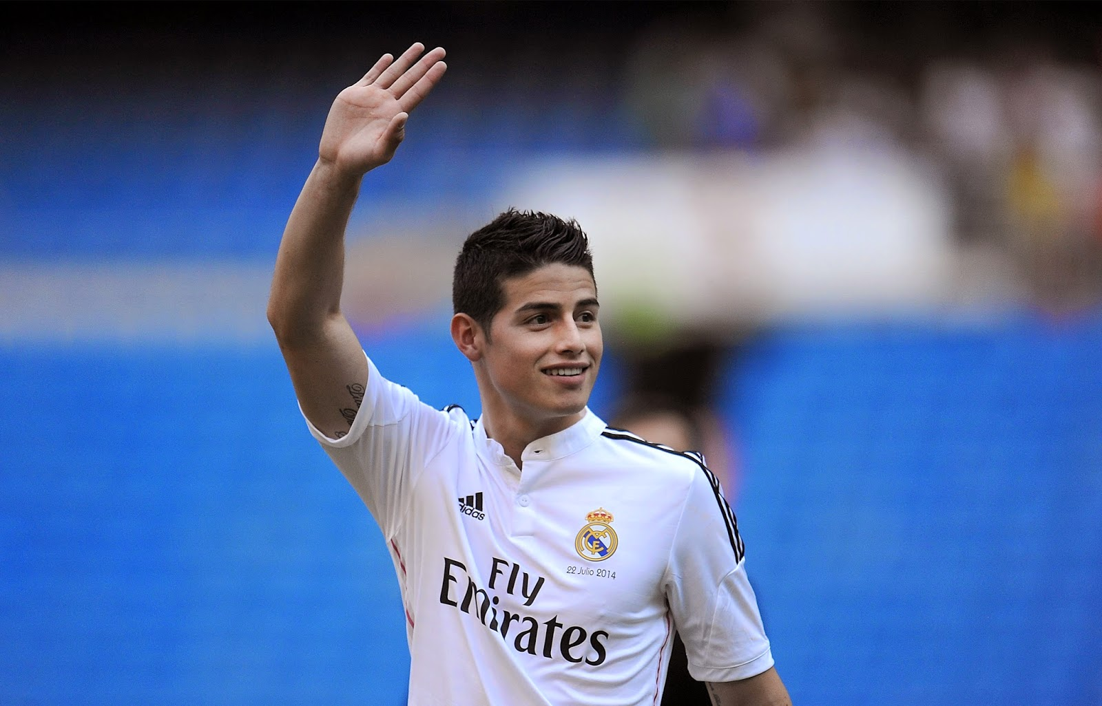 James Rodriguez Real Madrid 2014 - 2015 Free HD Wallpaper