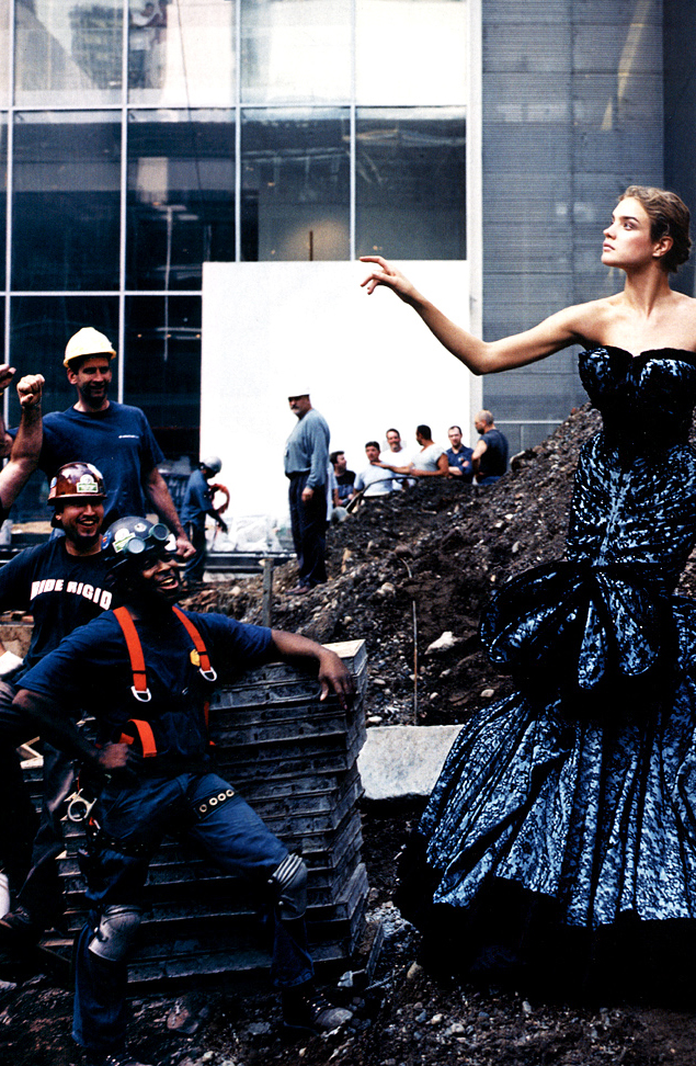 via fashioned by love | Natalia Vodianova wearing Christian Dior Couture by John Galliano in High Art | Vogue US November 2004 (photography: Annie Leibovitz, styling: Grace Coddington)