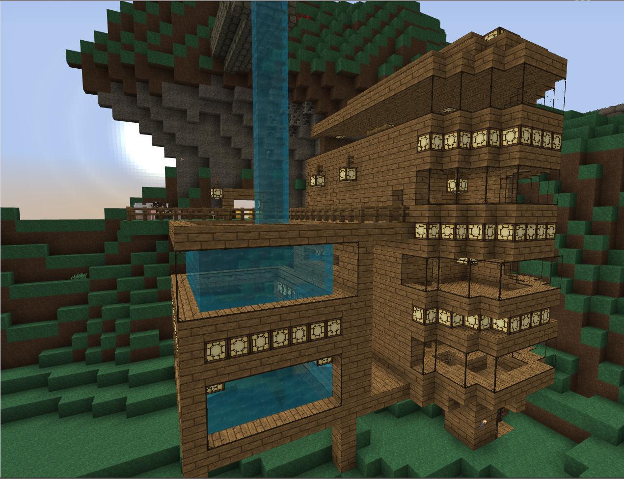 Minecraft mods texturepacks y mucho mas mods texture for Casas modernas minecraft 0 14 0