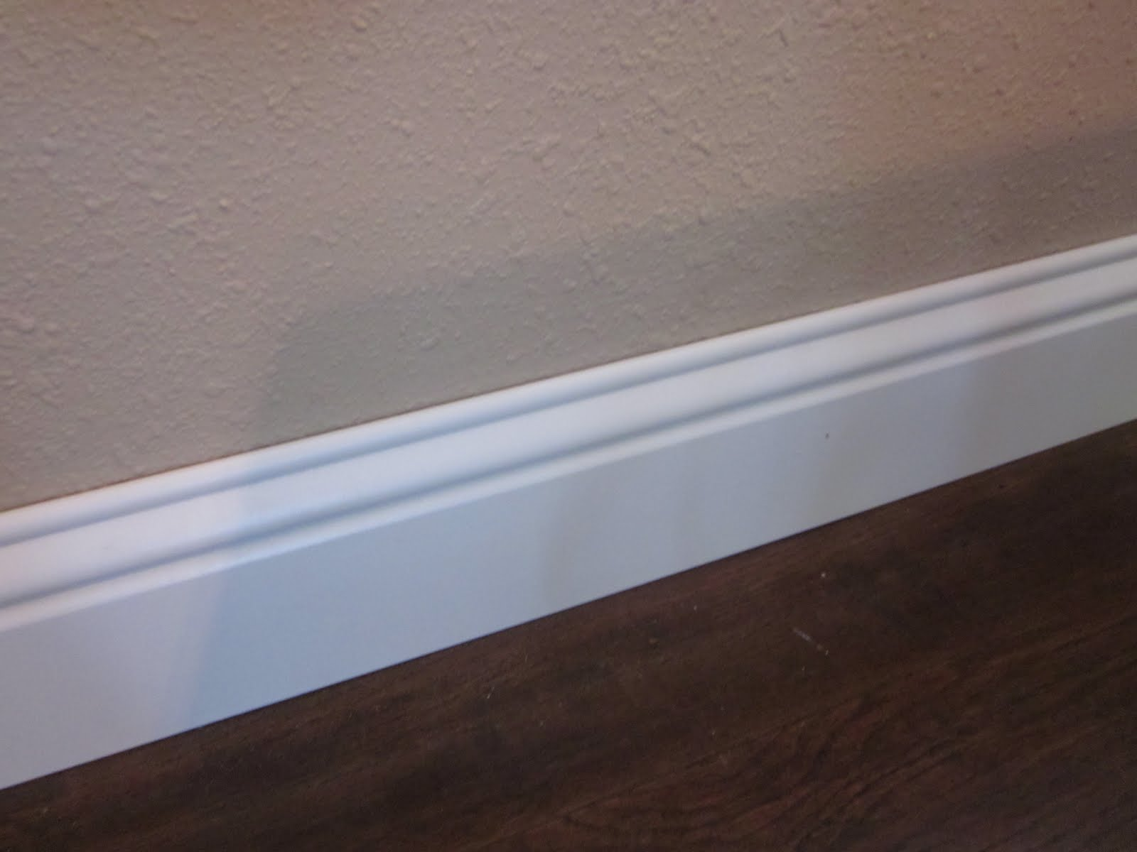 Baseboard Trim In Dining Room on happy house tile