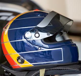 Il casco di Heinz Harald Frentzen