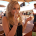 Sexy Blonde Girl Drinking Beer HD Desktop Wallpaper Free Download | Actress and Girls HD Wallpapers