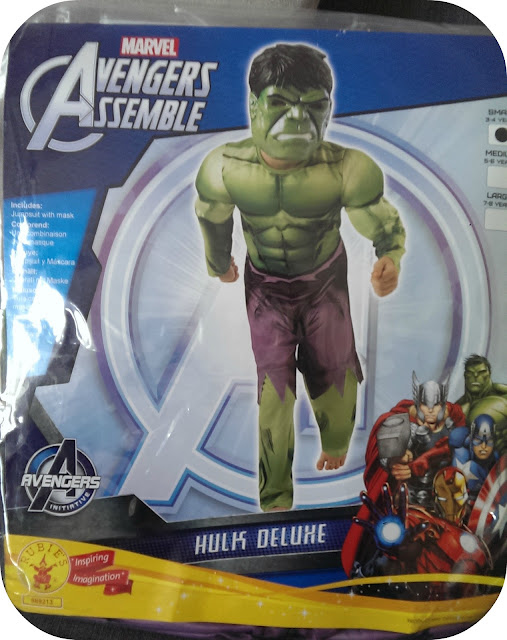 Fun Warehouse - Avengers Assemble Deluxe Hulk Dress Up