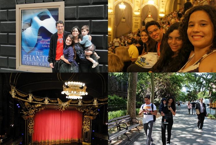 Viagem, Dicas, Relato, viajando com criança, Bebe, Disney, New York, Nova York, EUA, Times Square, Fantasma da Opera, Musical, Broadway, Teatro Majestic