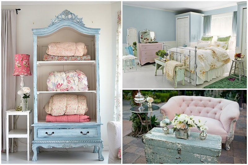 d co maison shabby chic. Black Bedroom Furniture Sets. Home Design Ideas