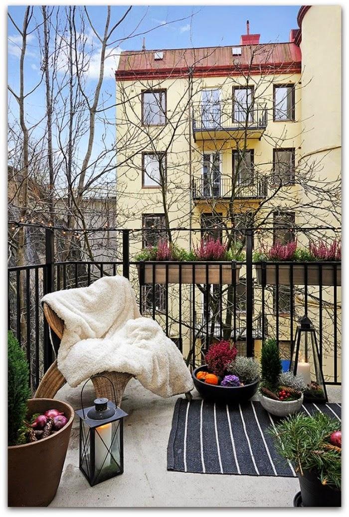 En casa de Oly: Formas ru00e1pidas de acondicionar tu terraza o porche ...