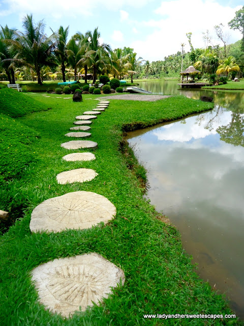 pathway in Rafael's Farm Leyte