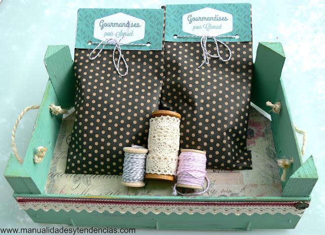 Bolsas de dulces para cumpleaños