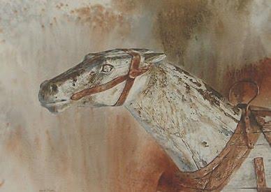 Racing Horse 1970s