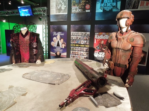 Doctor Who Day of Doctor Gallifrey War Room costumes props