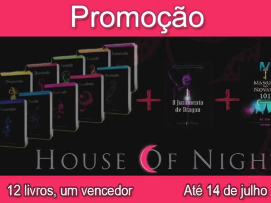 Promoção Eu quero ler House of Night