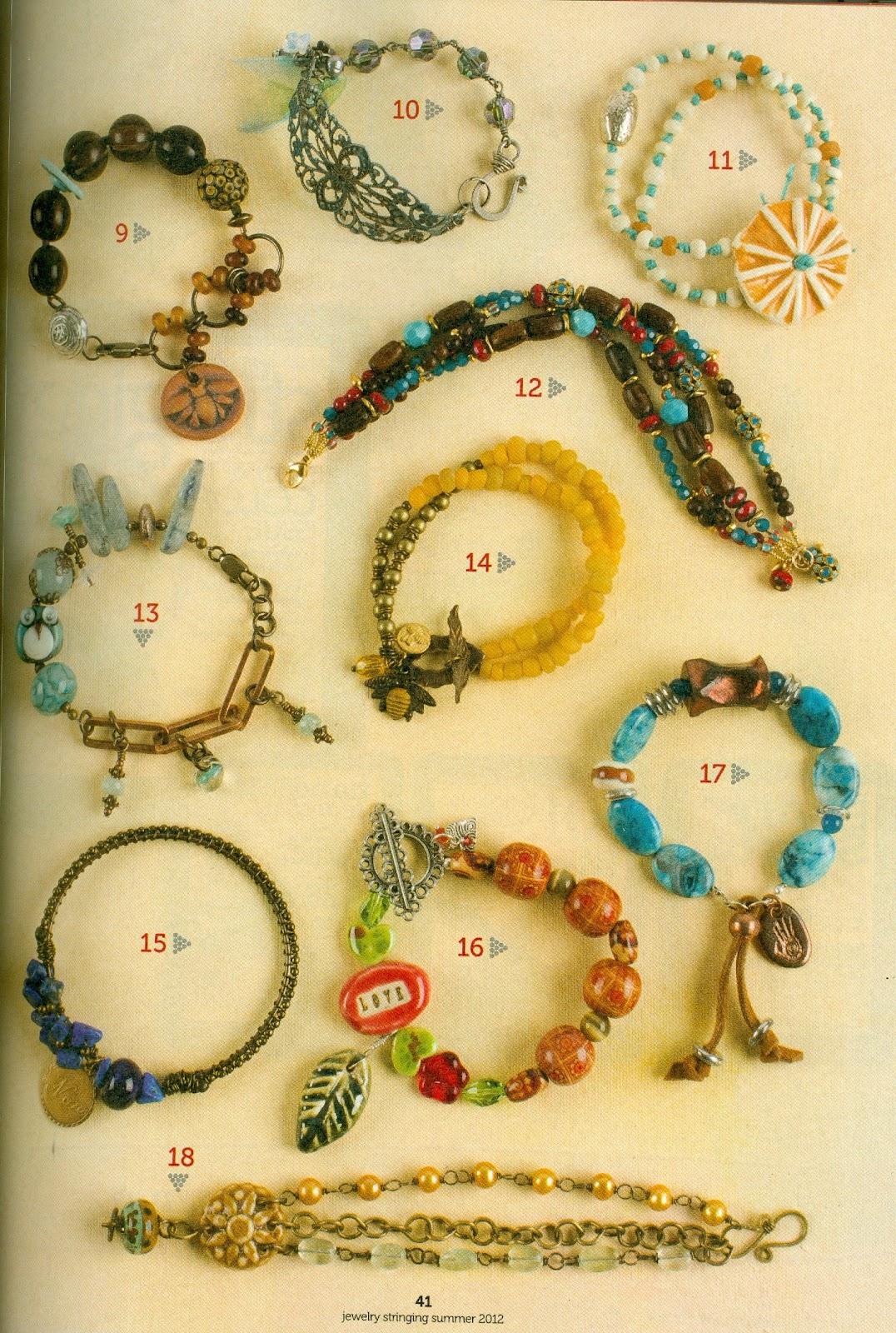 Stringing Beads Magazine The New Stringing Magazine Has