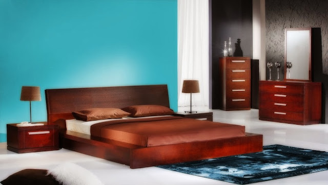 Turquoise bedroom design ideas 9 designs for Brown and turquoise bedroom designs