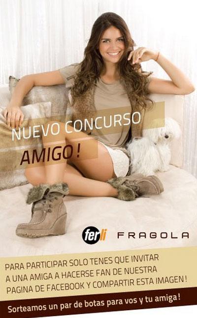 Fragola (Calzados Ferli) otoño invierno 2012. Concurso Día del Amigo.