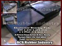 Plain elastomer bearing Pads , Steel laminated Elastomeric Bearing Pads ,Material Plain elastomer bearing Pads , Elastomer Bearing Pads,Karet Bantalan Jembatan,Karet Bantalan Elastomer ,Bantalan karet Jembatan,Elastomeric Bearing Pads.