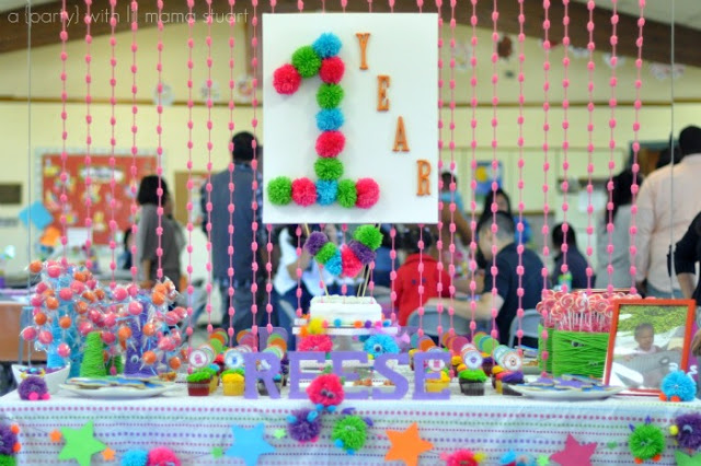 A day with lil mama stuart monstar 1st birthday party for 1st birthday party decoration ideas boys