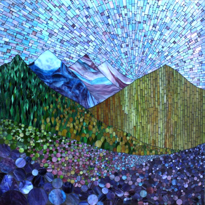 kasia mosaics my growing landscape series