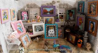 exposición pintura en miniatura
