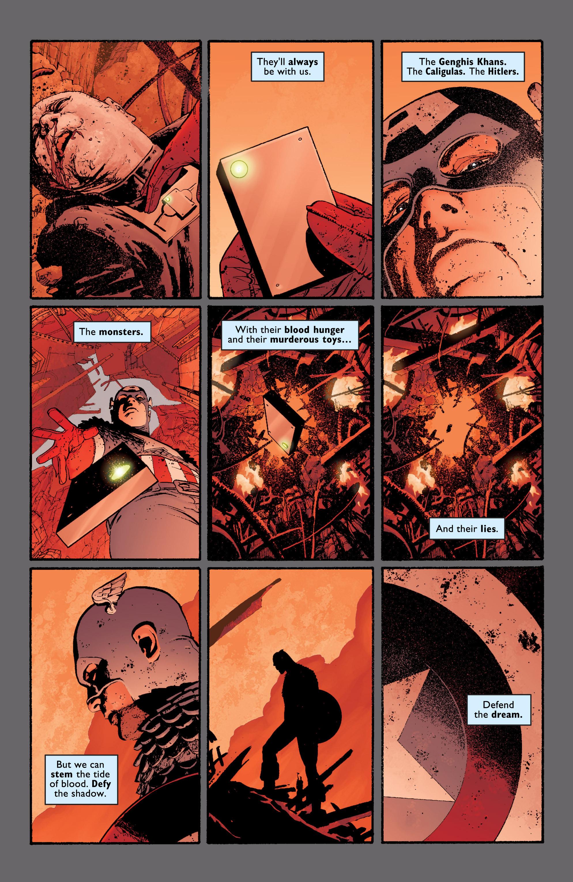 Captain America (2002) Issue #6 #7 - English 23