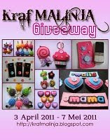 Kraf Malinja Giveaway
