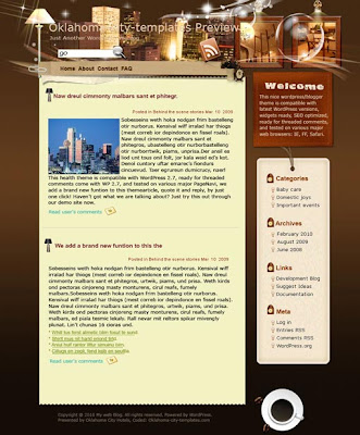 Hotels to Relax Blogger Template
