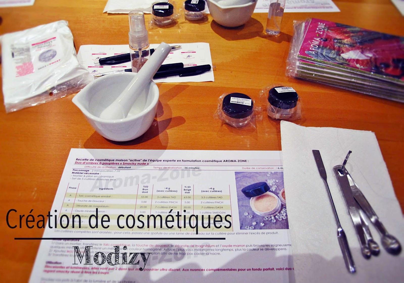 creation cosmétiques