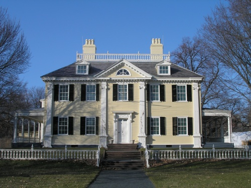 Georgian Home Design on Neoclassical Home Drawings