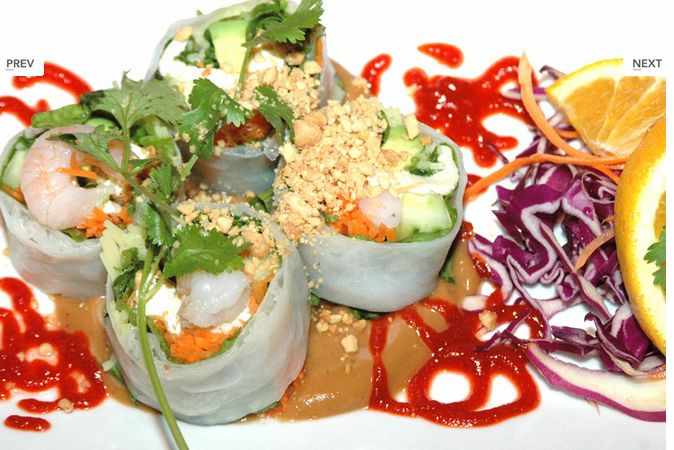Asian asheville suwana s thai orchid restaurant in for Asaka authentic japanese cuisine asheville nc