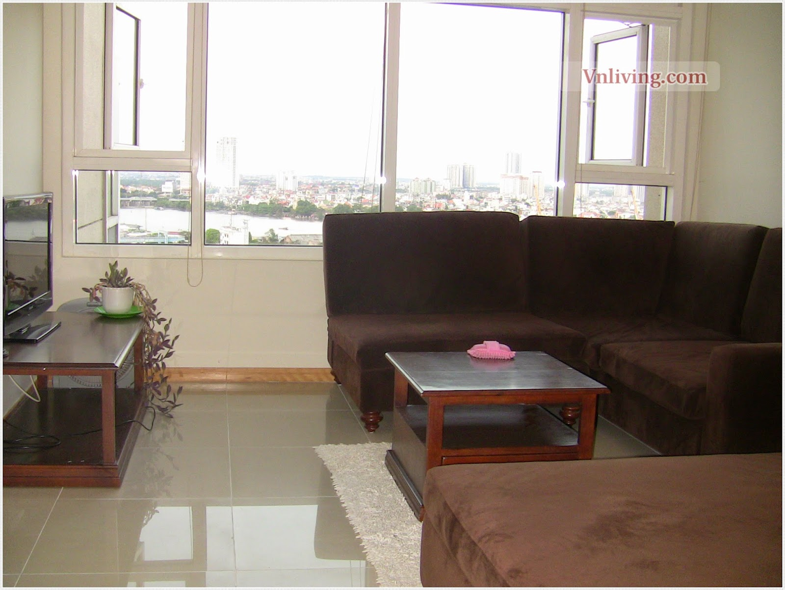 Saigon Pearlfor rent apartment in Ruby tower