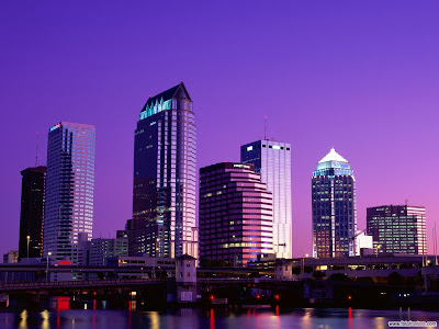 Fotografías de ciudades con vista nocturna