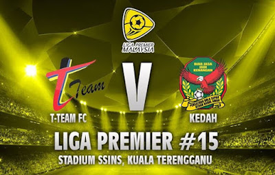 Video T-Team vs Kedah, 7 Julai 2015, Tonton Video Sukan. Tonton Kedah vs T-Team, Tonton Video Bolasepak, Tonton Video Goal. Tonton Video Gol.
