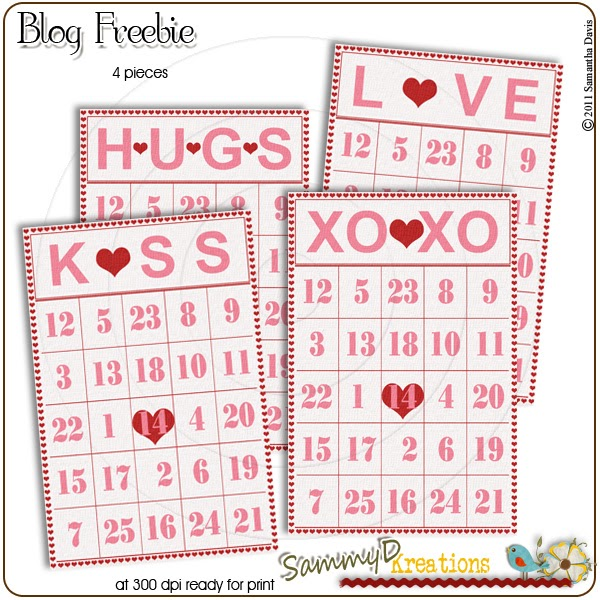 Witty image for valentines bingo cards free printable