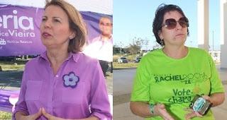 Rachel e Valéria disputam segundo turno na Ufal