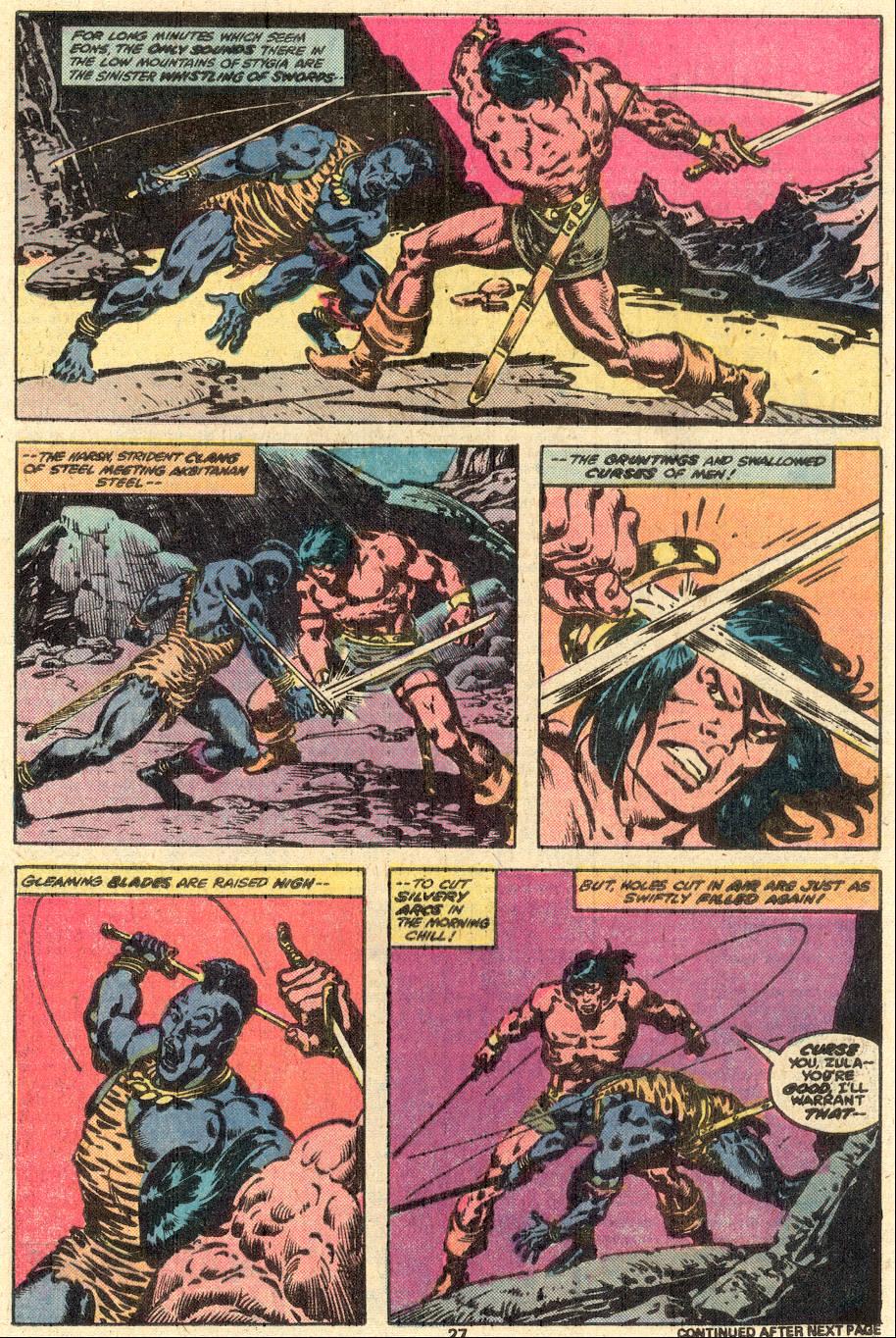Conan the Barbarian (1970) Issue #85 #97 - English 16