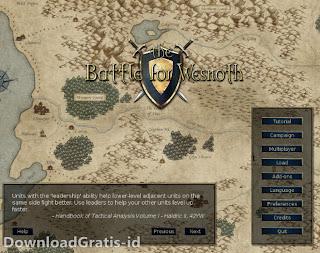 Game Strategi Taktik Berperang