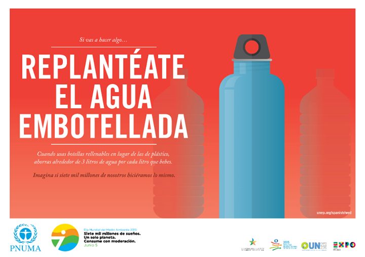 Pósters del Día Mundial del Medio Ambiente DMMA 2015
