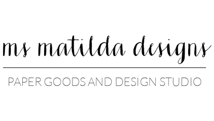 Ms Matilda Designs