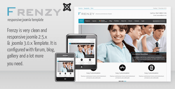 Responsive Joomla Business Template