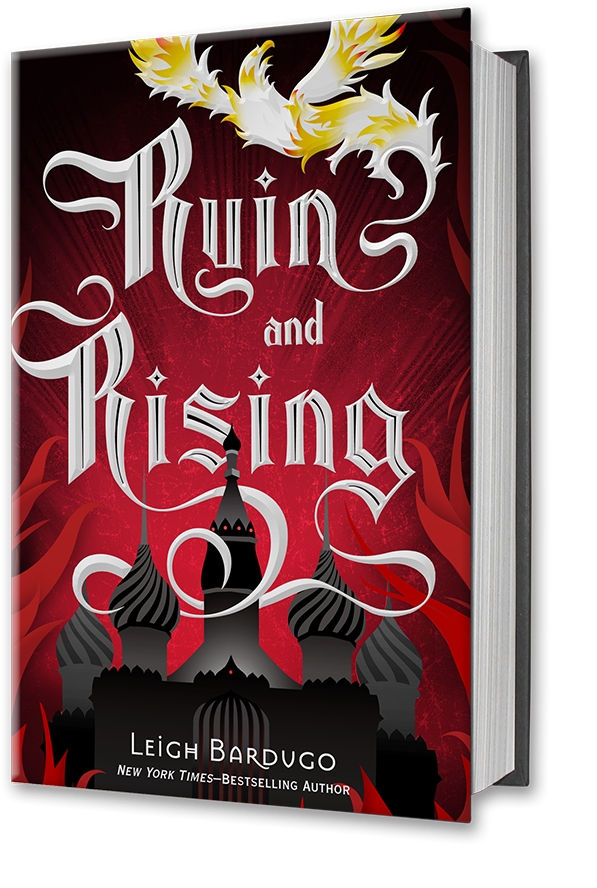 http://www.amazon.com/Ruin-Rising-Grisha-Trilogy-Shadow/dp/080509461X/ref=sr_1_1?s=books&ie=UTF8&qid=1395948546&sr=1-1&keywords=ruin+and+rising