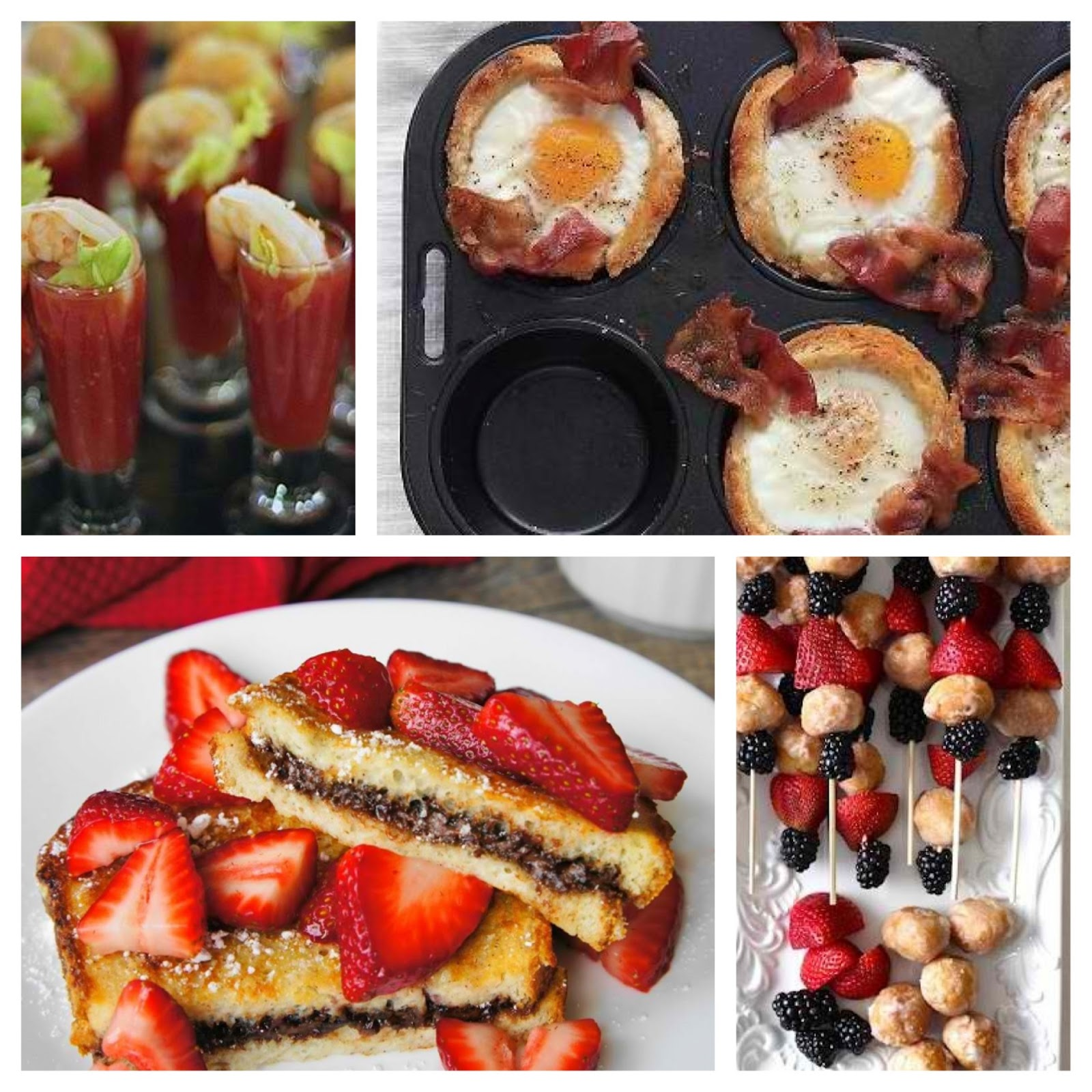 Mothers Day Goodies Brunch Ideas
